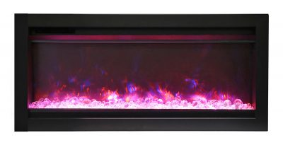Remii 34 WM-B electric fireplace