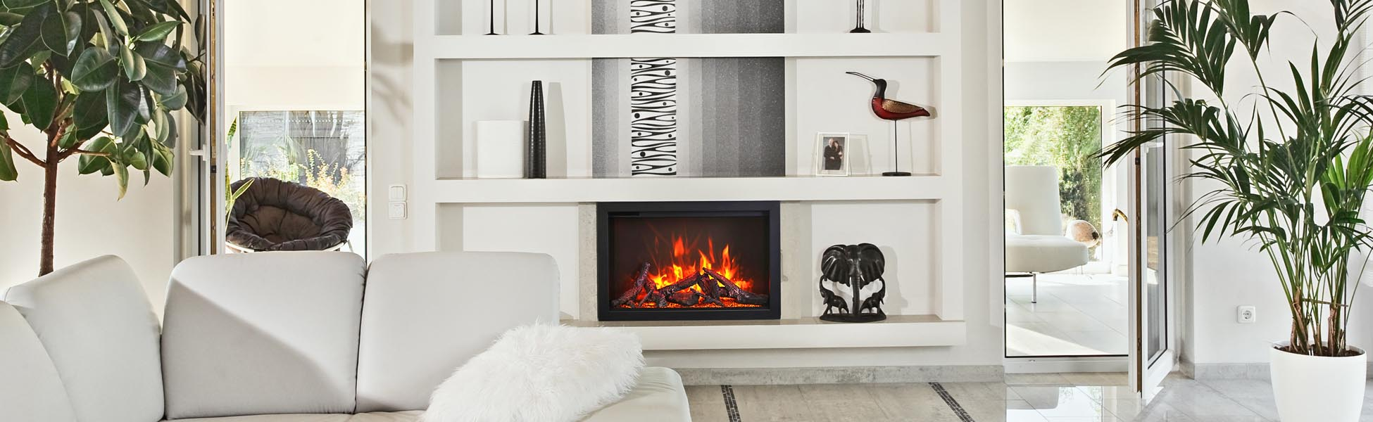 TRD electric fireplace