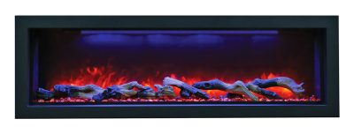 Panorama BI-50-DEEP electric fireplace by Amantii