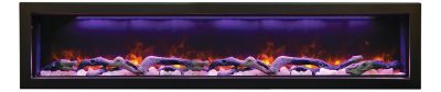 Panorama BI-72-DEEP electric fireplace by Amantii