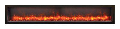 Panorama BI-88-DEEP electric fireplace by Amantii