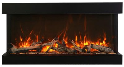 TRV electric fireplace