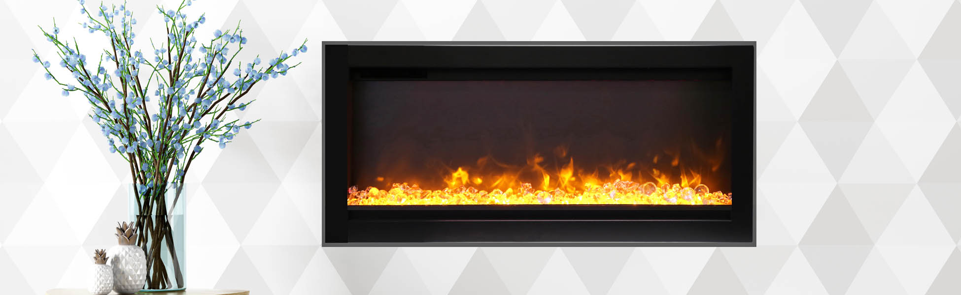 SYM-B electric fireplace