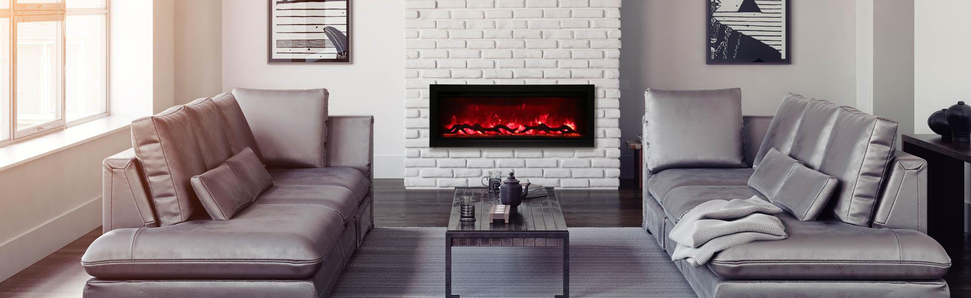 SYM-42 Electric Fireplace