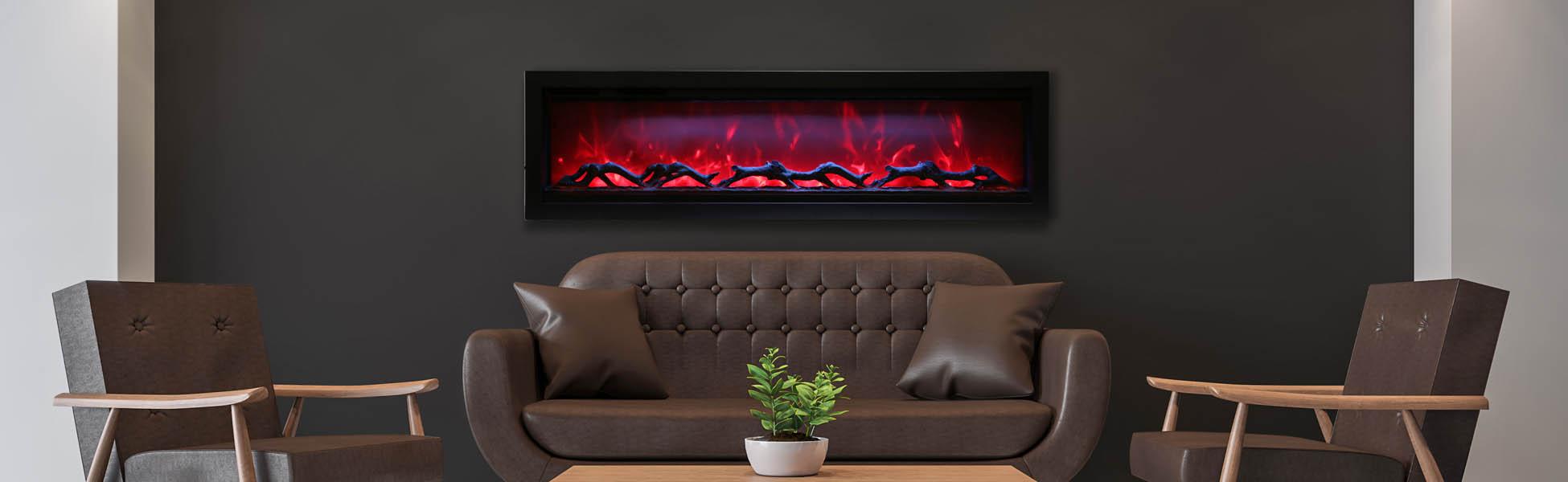 SYM-60 electric fireplace