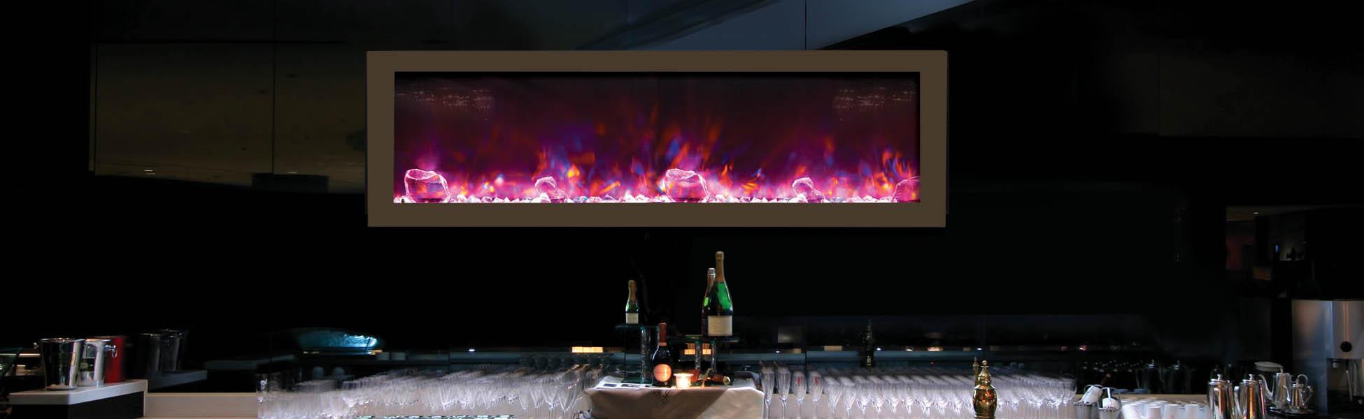 Amantii electric fireplacews