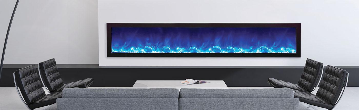 Amantii slim electric fireplace
