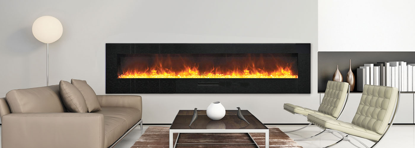 Amantii 88 inch electric fireplace