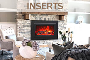 Traditional Insert Fireplaces