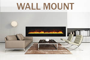 Wall Mount Fireplaces