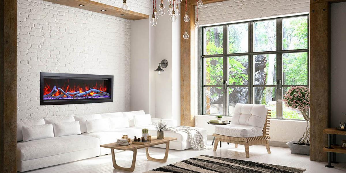 Amantii SYM-50 BESPOKE Electric Fireplace