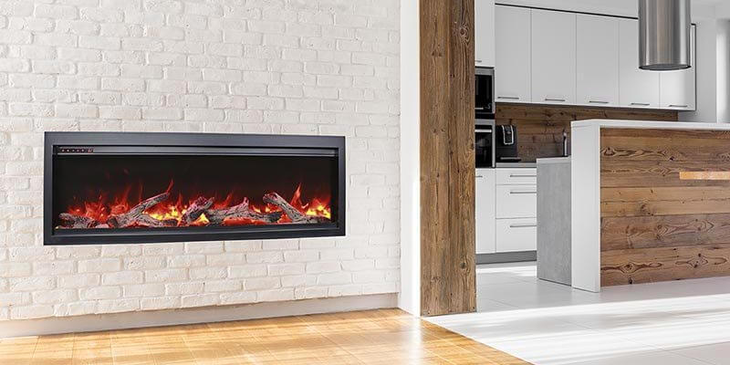 Bespoke electric fireplace series