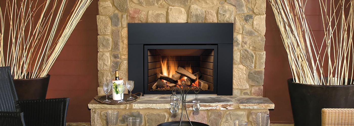 Abbott gas fireplace