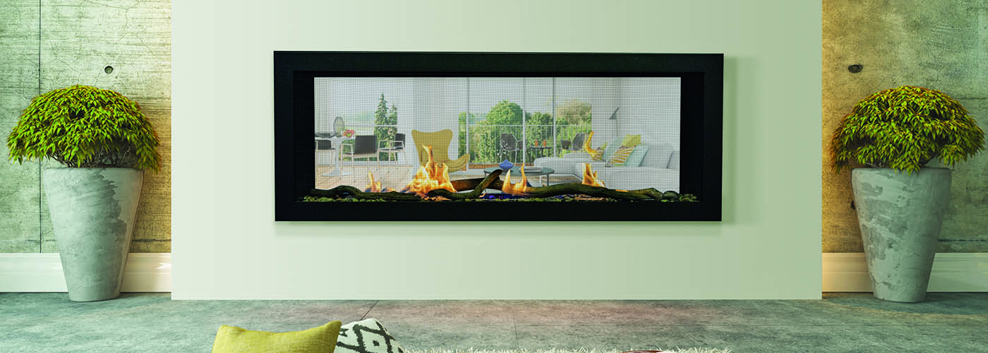 Emerson gas fireplace