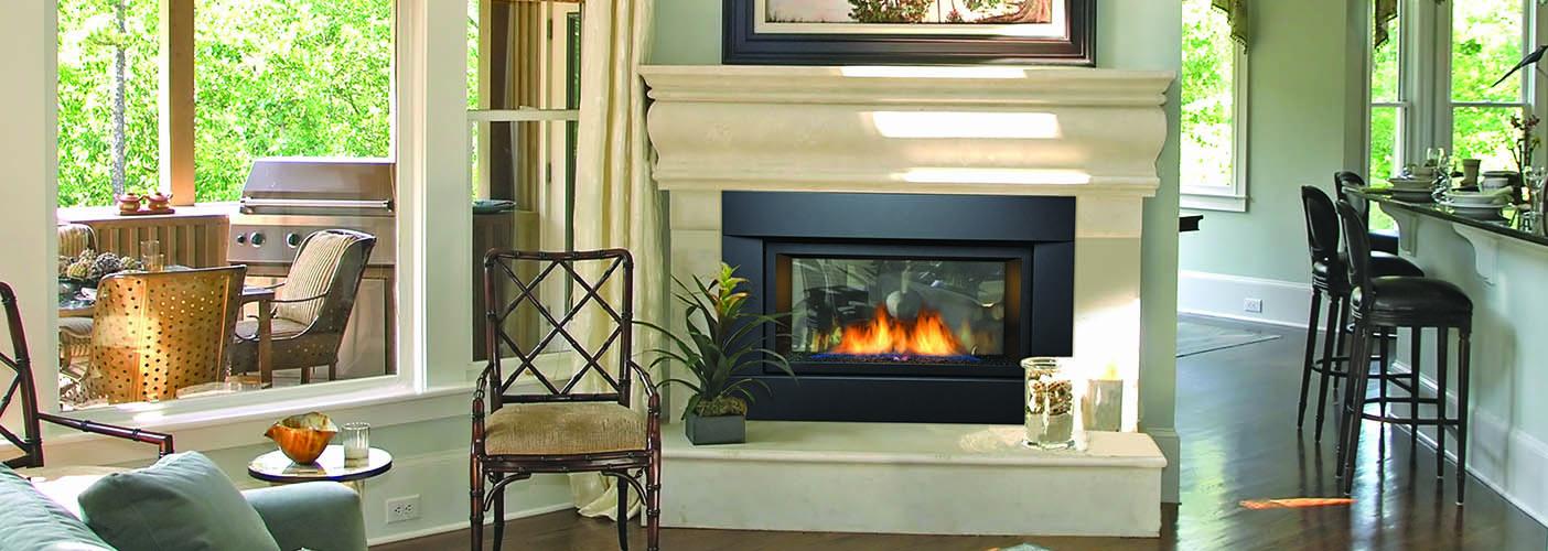 Palisade gas fireplace