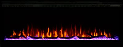 """Sideline Elite 50"""" Recessed Electric Fireplace"""