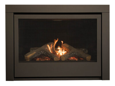 Thompson Direct Vent Linear Gas Fireplace
