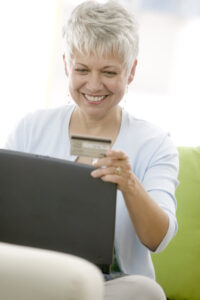 Women buying online for Privacy Policy page