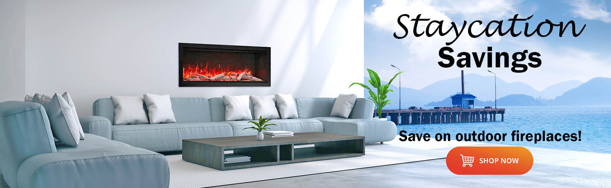 electric fireplace sales