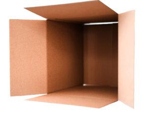 open-box, cardboard box